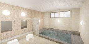 POINT04:大浴場を完備