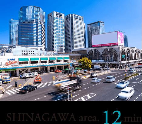 SHINAGAWA area.12min